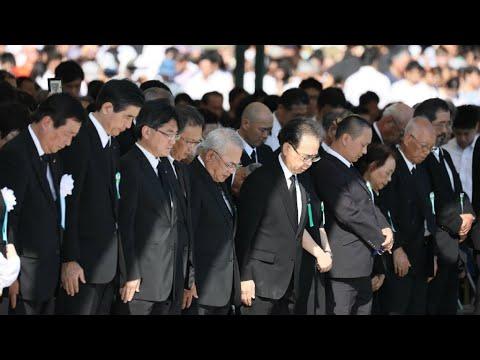 Japan marks 72 years since atomic bomb attack on Hiroshima