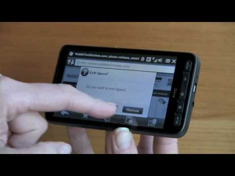 HTC HD2 Video Review