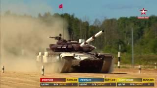 Танковый биатлон  14 заезд  АрМИ 2017