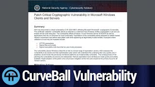 """Microsoft Issues Security Update to Fix """"Curveball"""" Vulnerability thumbnail"""