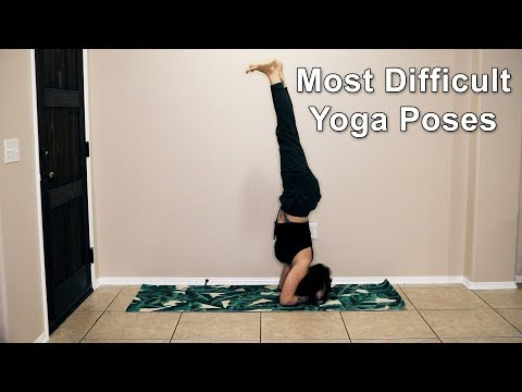 Most Difficult Yoga Positions | Advanced Yoga Poses | Lose Belly Fat | Difficult Exercises Made Easy