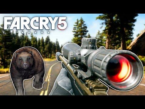 Far Cry 5 - 308 CARBINE HUNTING & CUSTOMIZATION (Far Cry 5 Free Roam) #3