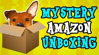 Mystery Amazon Unboxing - ALL DOG PRODUCTS! - Dog Clothes and Toys