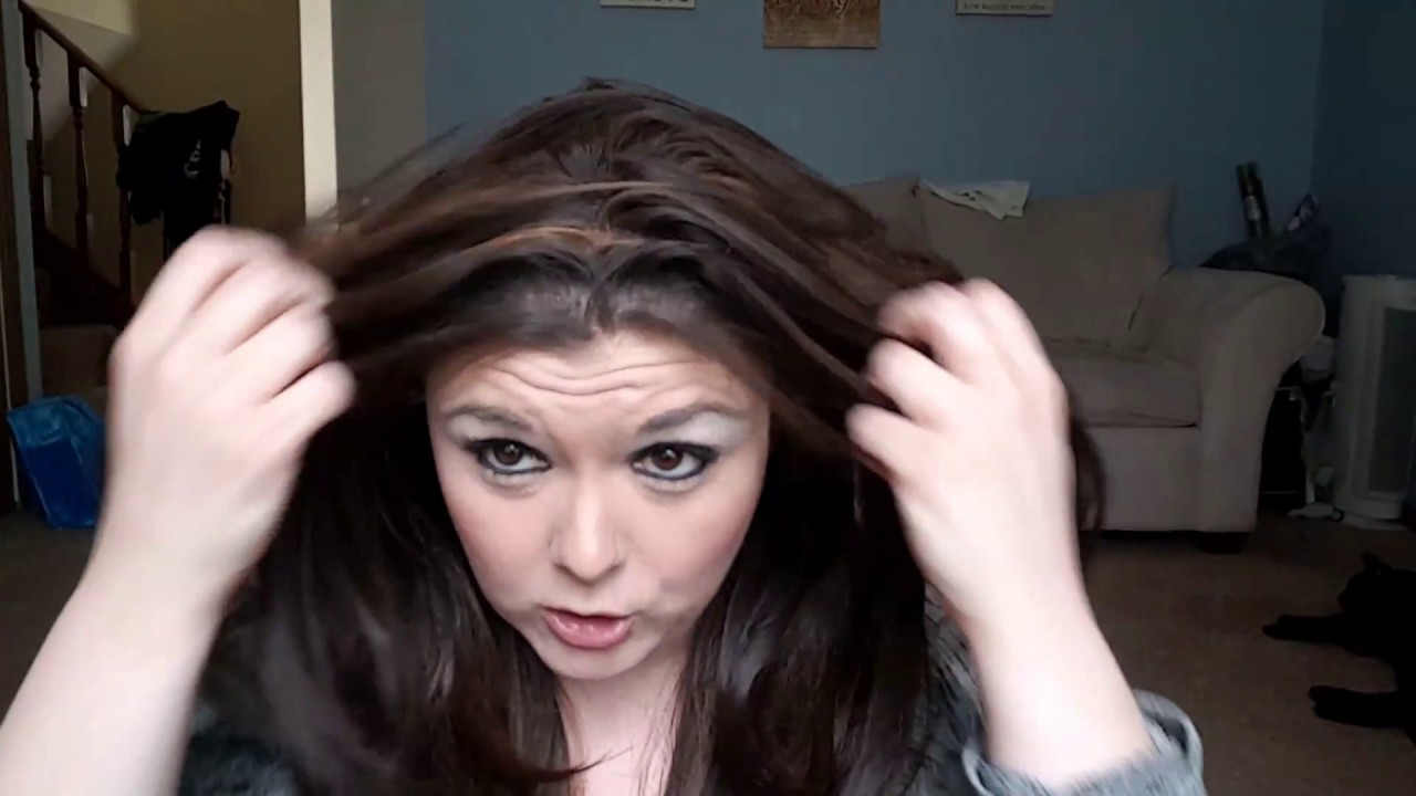 Fun With Wigs Widows Peak No Problem