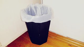 How to make a trash can in ten minutes