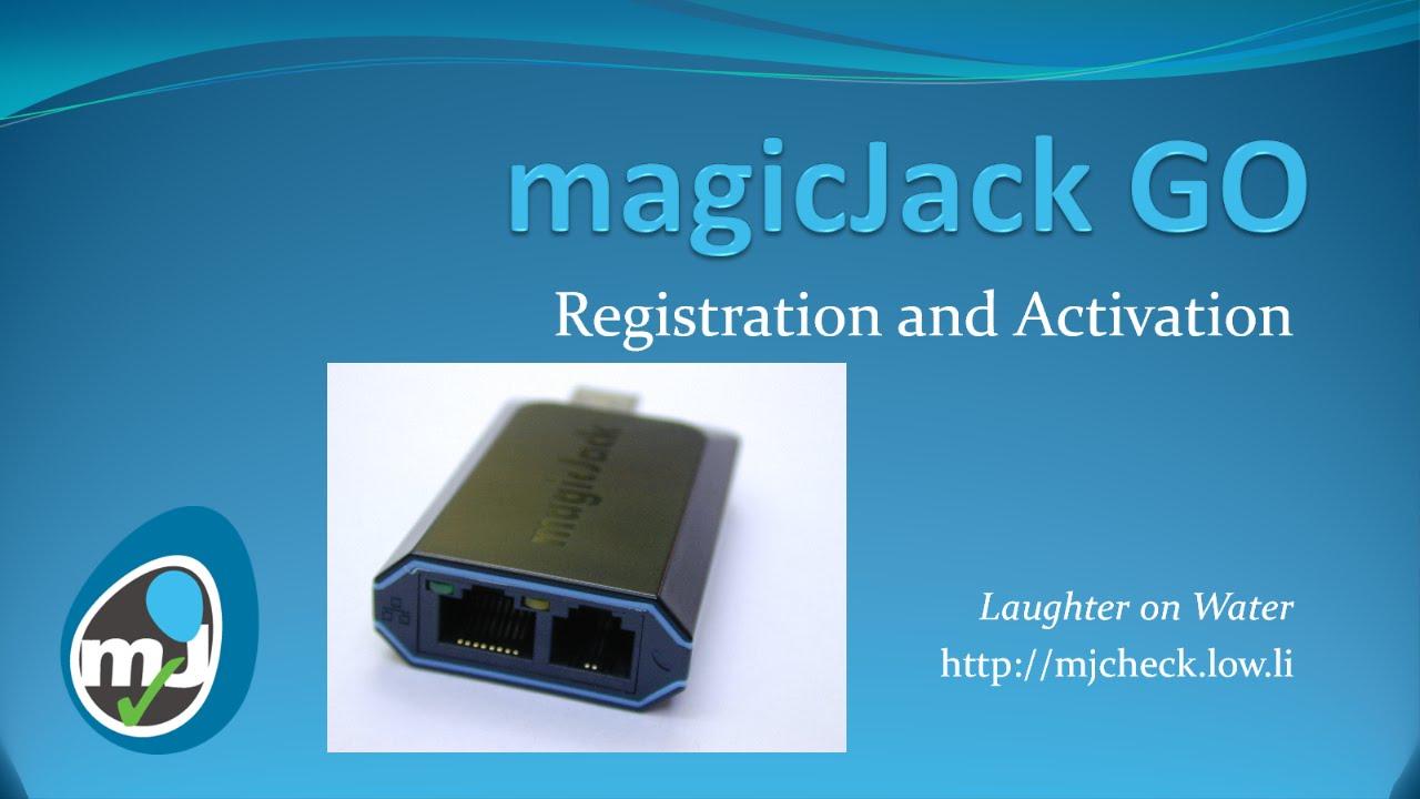 Magicjack Go Activation And Registration Youtube Magic Jack Internet Phone