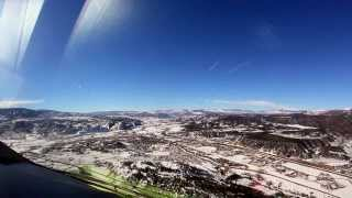 Approach to KEGE - Eagle County Regl Airport