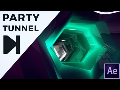 After Effects Tutorial - Tunnel Animation