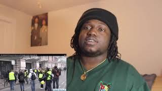 Un homme boxe un gendarme, l'incroyable séquence de l'acte 8 à Paris & MORE YELLOW VEST REACTION