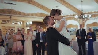 До мурашек!!! Первый танец молодоженов. Красивые жених и невеста. Очень душевная песня.