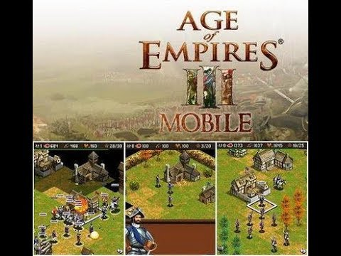 """""""Age Of Empires III Mobile"""" (Java Game)"""