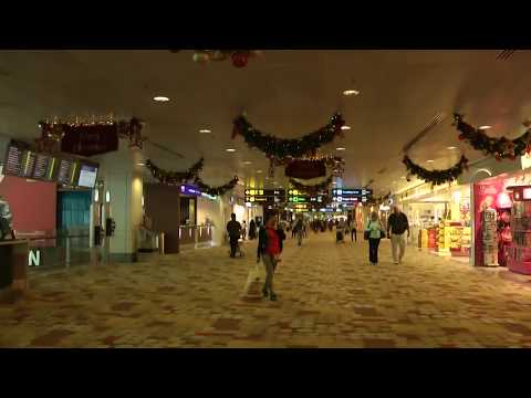 Singapore Changi airport tour from terminal 1 to terminal 3