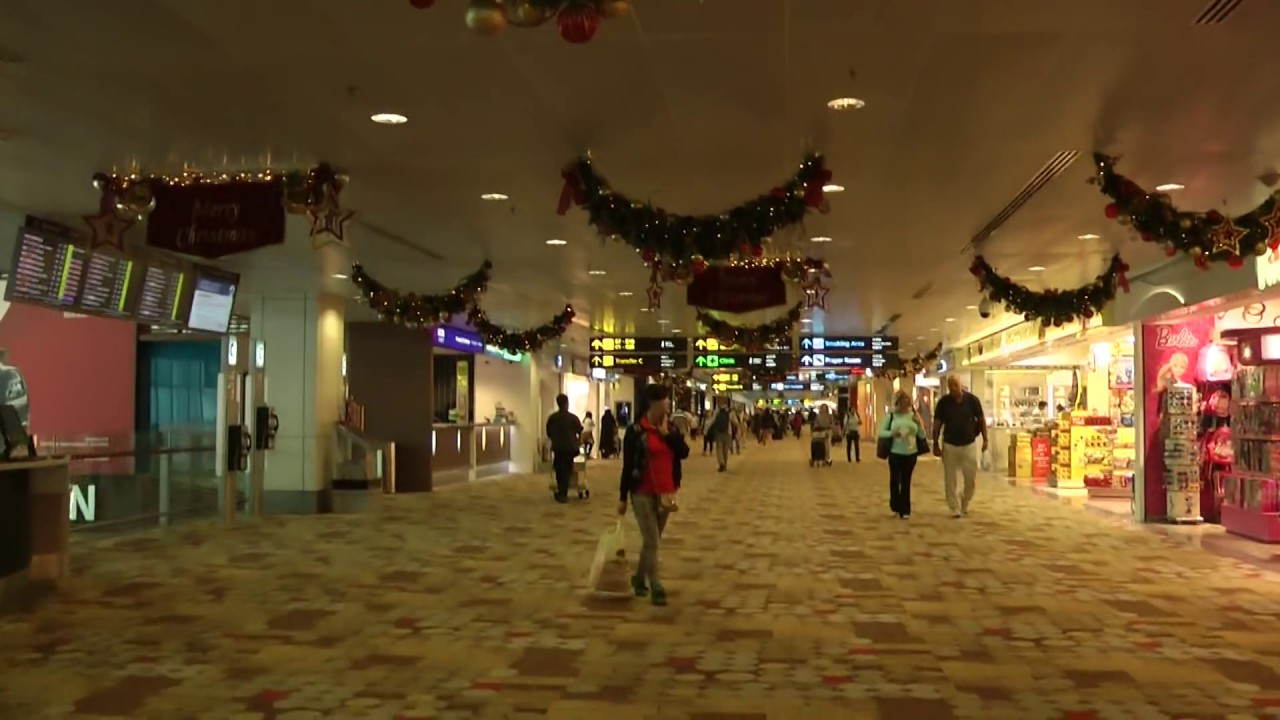 Singapore Changi Airport Walkthrough Terminal 1,2 & 3 ...