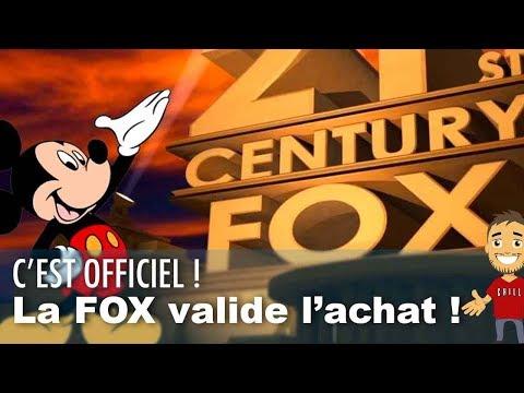 La FOX accepte l'achat par DISNEY !