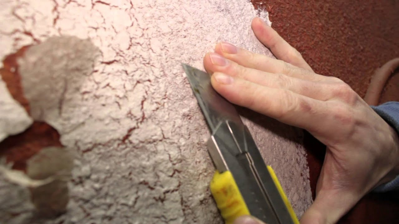 How to make flaking paint faux finish 171 - YouTube