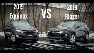 2019 Chevrolet Blazer VS Equinox - What are the differences?