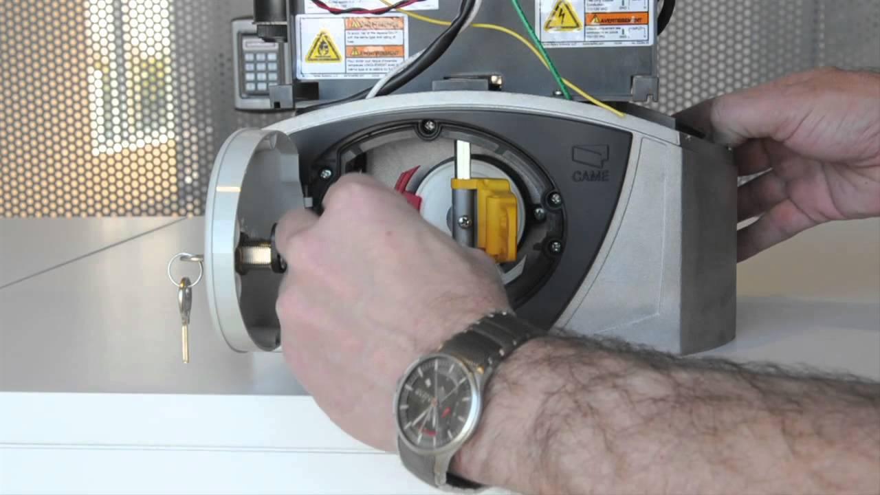 programming a liftmaster came bx 243 slide gate opener youtube. Black Bedroom Furniture Sets. Home Design Ideas
