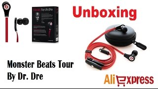 ALIEXPRESS #2 Unboxing Fone de ouvido Monster Beats Tour By Dr. Dre(, 2014-12-06T12:38:14.000Z)
