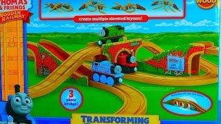 Transforming Track Bridge Thomas Wooden Railway Toy Train Engine Review Mattel Fisher Price