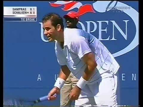 Pete Sampras v Scheng Schalken: Fine Selection of Rallies