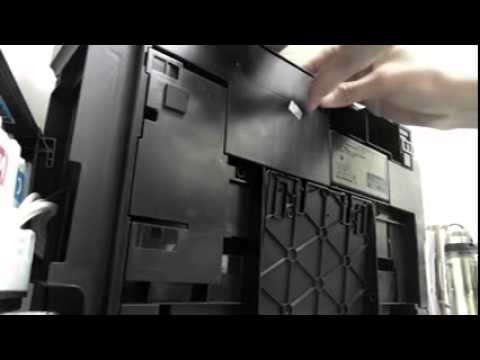 Epson L210 How To Clean Waste Ink Pad Youtube