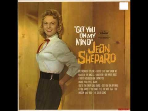Jean Shepard - **TRIBUTE** - The Color Song (I Lost My Love) - (1960).