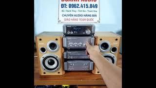 ✅ dàn trung âm thanh panasonic nhật bãi 🔊dàn âm thanh bãi nhật giá rẻ💵giá công khai ( đã bán xong )