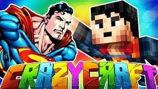 SUPERMAN SUPER HERO TO MARS - MINECRAFT