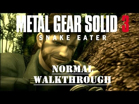 Metal Gear Solid 3 - Stealth Walkthrough - No Commentary