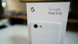 Pixel 3 XL - Unboxing and first setup