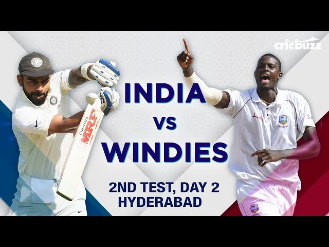 Match Story: India vs Windies, 2nd Test, Day 2