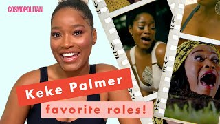 Keke Palmer Watches Her Most Iconic TV and Movie Scenes | Breakdown Breakdown | Cosmopolitan