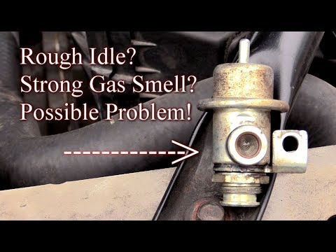 Rough Idle? Strong Gas Smell? Here's Your Possible Problem!--Easy Fix!