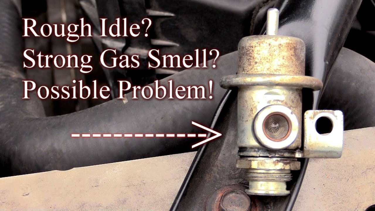 Rough Idle Strong Gas Smell Here S Your Possible Problem Easy Fix