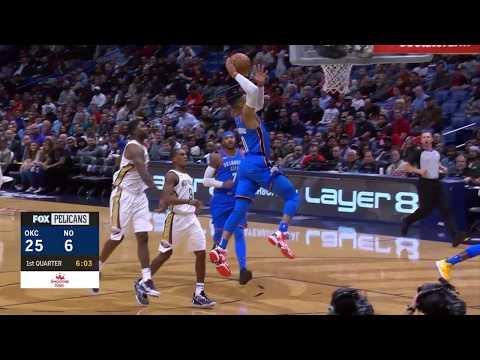 Oklahoma City Thunder vs. New Orleans Pelicans - November 20, 2017