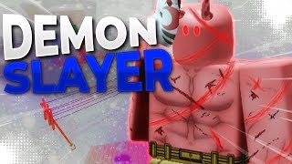 Demons are overpowered | Demon Slayer | ROBLOX