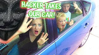 Hacker Traps Us In Our Car!
