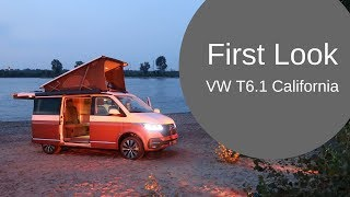 VW California T6.1 at the WORLD PREMIERE!