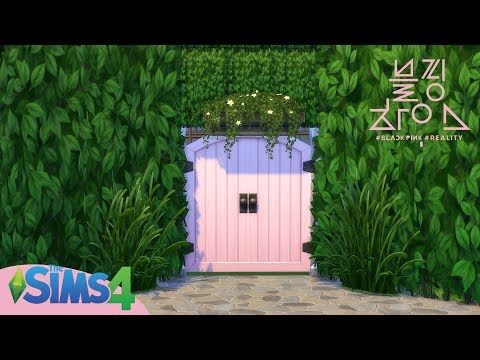 The Sims 4 : BLACKPINK HOUSE(블핑하우스) + DL W/ CC