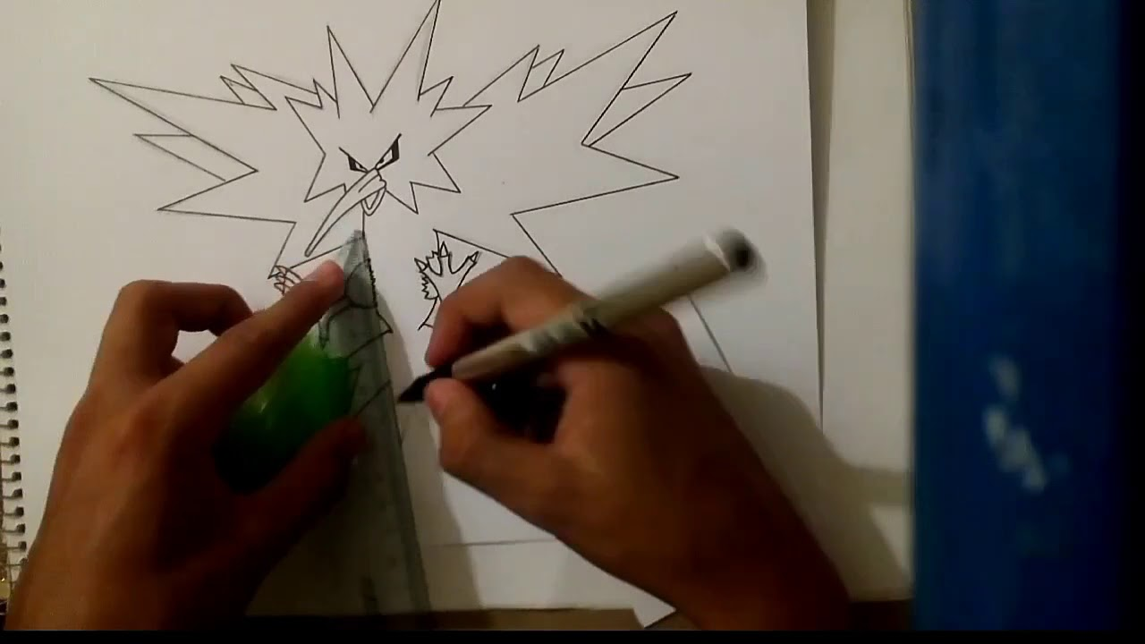 Pokemon Como Dibujar A Pokemon Legendario Sencillo Youtube