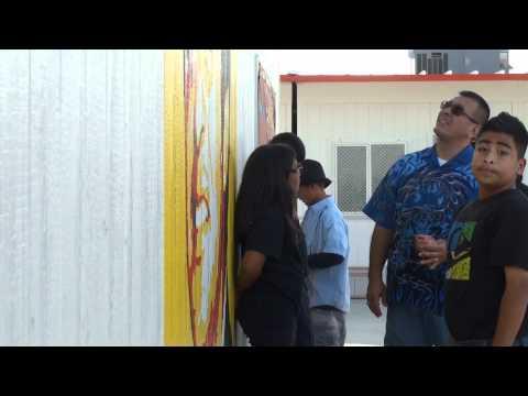 Kick-off of Red Ribbon Week at Enrique Camarena Junior High School