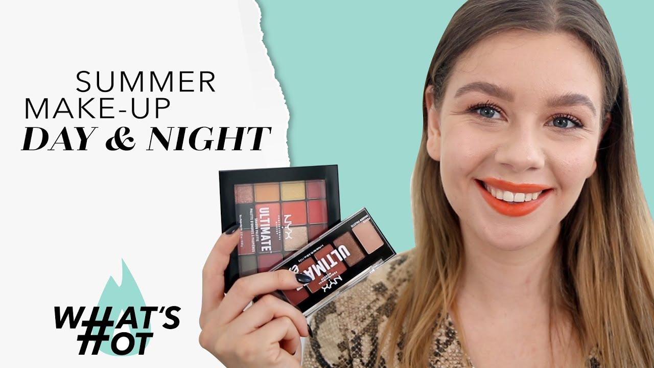 SUMMER MAKE-UP - DAY & NIGHT Mit NYX, IT Cosmetics, Dior & mehr! I #WhatsHot