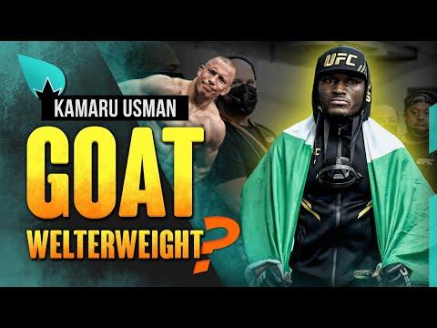 Kamaru Usman : GOAT des welterweights ?   Podcast La Sueur