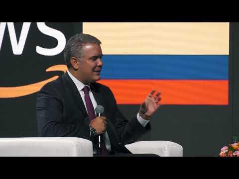 AWS Public Sector Summit Bogota | El Presidente Duque se une a Jeff Kratz