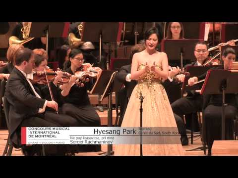 MIMC –  CMIM   2015 Voices/Chants  Final 1 - Hyesang Park (Soprano)