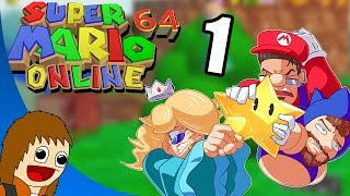 Super Mario 64 Online: Chilled's First N64 - Part 1 (w/ Chilled & Ze)