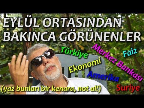 Ekonomi Piyasalar Siyaset Türkiye ve Dünyadaki Durum 09.09.2018 YORUM ANALİZ