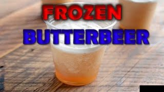 How To Make Frozen Butterbeer At Home Simple And Easy