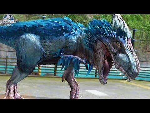 WORLDS FIRST YUTYRANNUS HYBRID!! - Unreleased Hybrid Yudon in Jurassic World The Game - HD