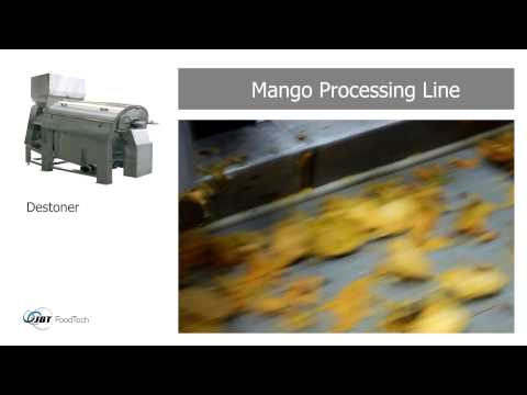 JBT Fruit and Vegetables Processing - Mango Processing Line [09108]